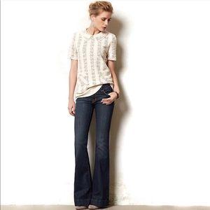 J Brand Love Story Wide Leg Jeans